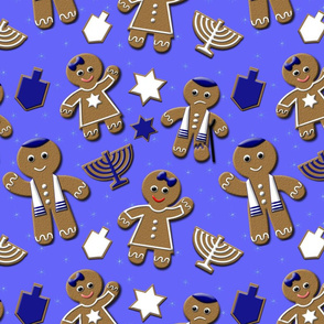 Hanukkah Gingerbread