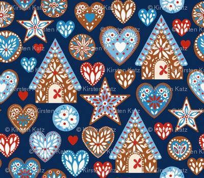 I Love Gingerbread ©Kirsten Katz