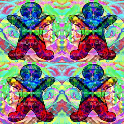 Gingerbread on Parade: Kaleidoscope Love