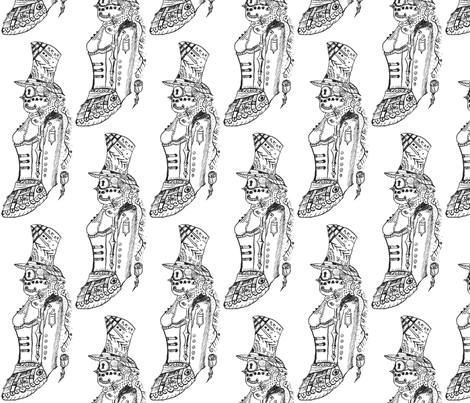 Steampunk fabric by rcmzstudio on Spoonflower - custom fabric