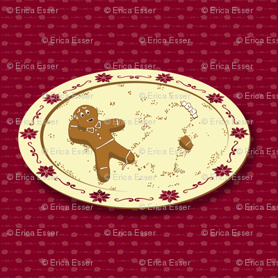 Gingerbread Chivalry ~ Ladies First!