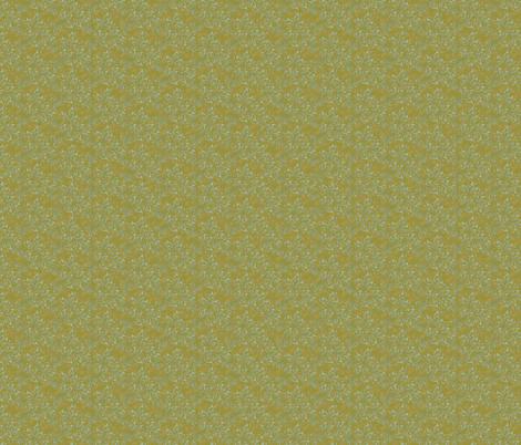 Aqua Flourish with Chartreuse Back fabric by brandilyn_wycoff on Spoonflower - custom fabric
