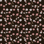 Cherry Blossom Deep Brown