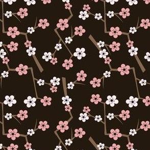 Cherry Blossom Deep Brown
