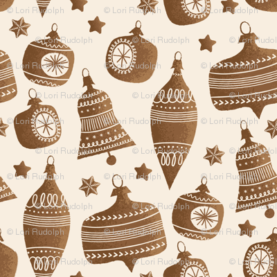Gingerbread Bells and Baubles