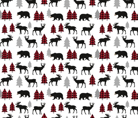 Bear-moose-deer-black-linen-red_trees1216x3000-whitenew_shop_preview