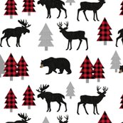 Bear-moose-deer-black-linen-red_trees1216x3000-whitenew_shop_thumb