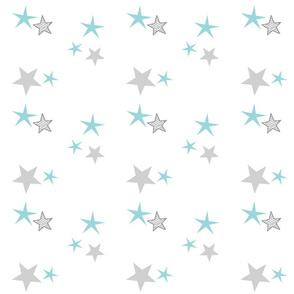 stars 7 - seafoam gray
