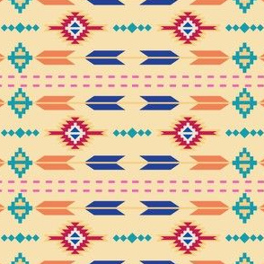 Aztec Stripe Yellow