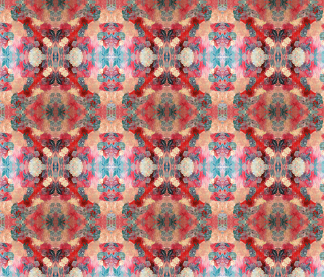 Red Allure 1 fabric by the_turquoise_iris on Spoonflower - custom fabric