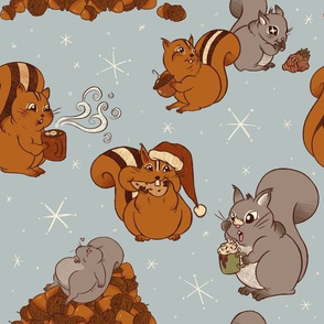 Fat Christmas Rodents