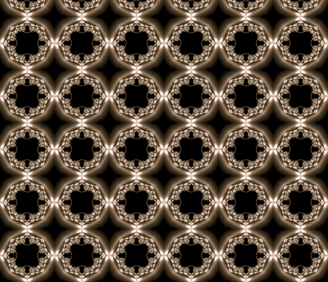 Fractal Headlights fabric by anneostroff on Spoonflower - custom fabric