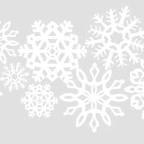 Snowflake Table Runner 54""