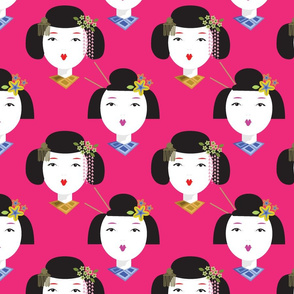 Beautiful-Geisha-Pink