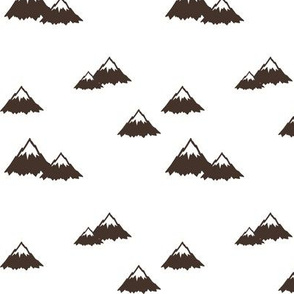 mountains || brown