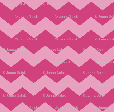 Small Pink Chevron