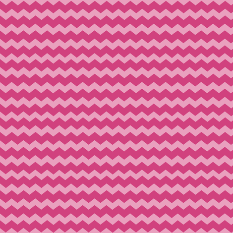 Small Pink Chevron fabric by jannasalak on Spoonflower - custom fabric