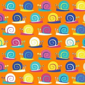 Snail Party Orange