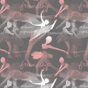 Ballet Class - Grey