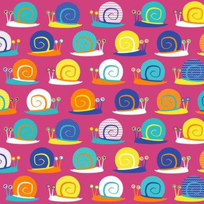Snail Party Pink