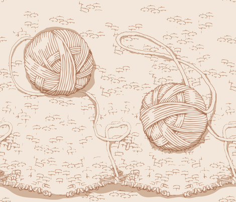 Hygge - Knitting fabric by nicoledobbins on Spoonflower - custom fabric