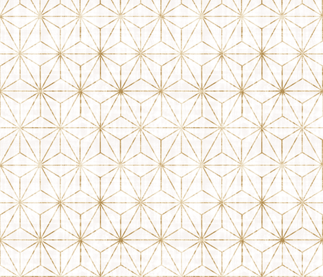gold star fabric by crystal_walen on Spoonflower - custom fabric