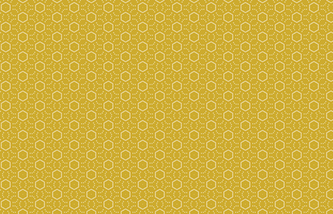 Mudcloth M+M Ocher by Friztin fabric by friztin on Spoonflower - custom fabric