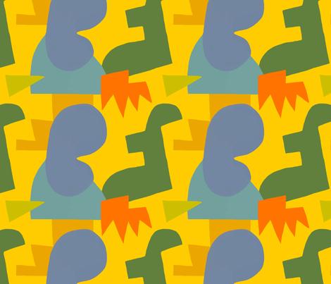 moon fabric by kimmurton on Spoonflower - custom fabric