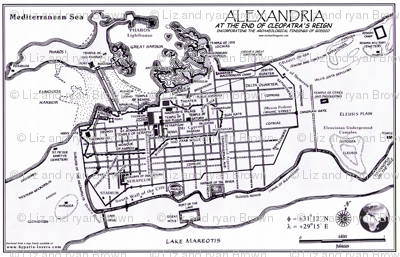 "Ancient Alexandria (56""W)"