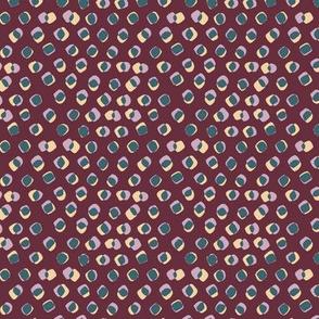 spots on maroon