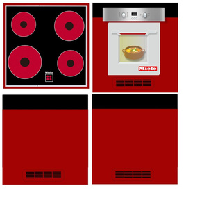 cooker for children's kitchen