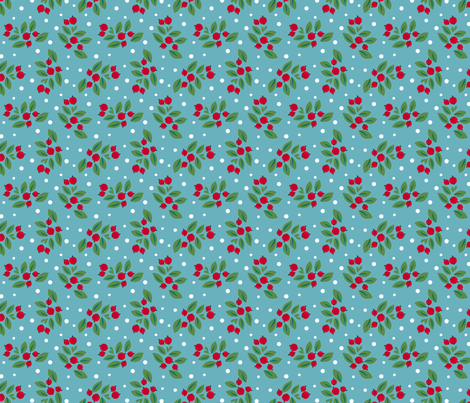 berries fabric by cjldesigns on Spoonflower - custom fabric