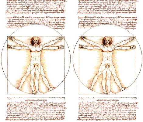 10 censored Vitruvian Man Leonardo da Vinci classical