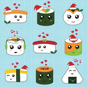 Merry Sushi Christmas - Small