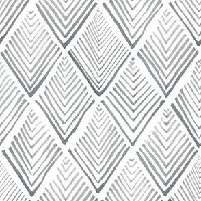 Treeometric - monochrome ink