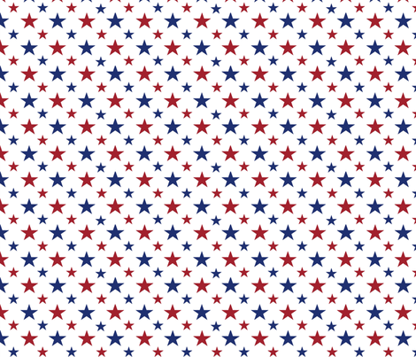 stars small fabric by red_dart on Spoonflower - custom fabric
