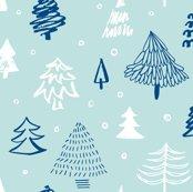 Patroon_kerstbomen_lichtblauw_shop_thumb