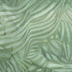 fan pistachio abstract