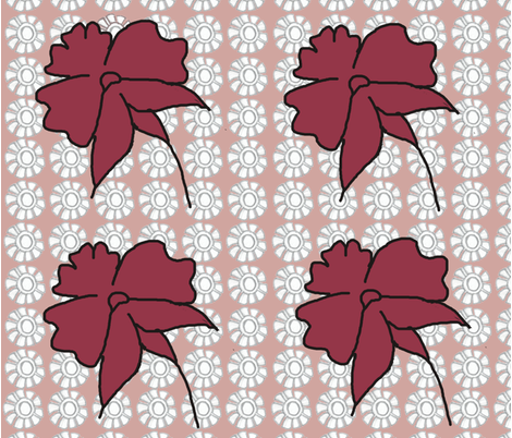 Floreal pattern  fabric by fable_creations on Spoonflower - custom fabric