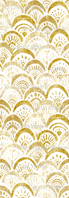 mermaid gold sparkle