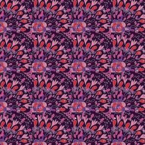 diseño de tela con telas estampados 2