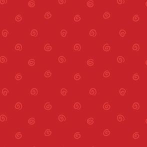 Whimsical Red Dot
