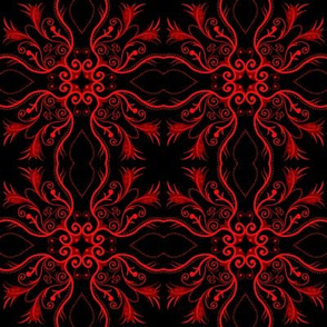 Red Mandalas