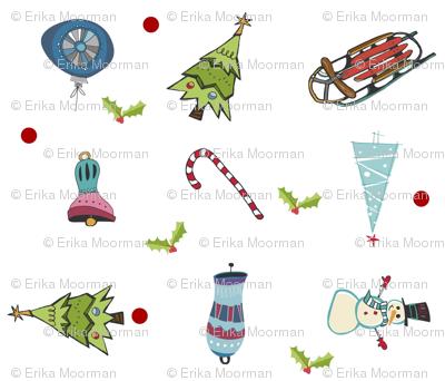 Mod Christmas Fun LG10 - mistletoe around