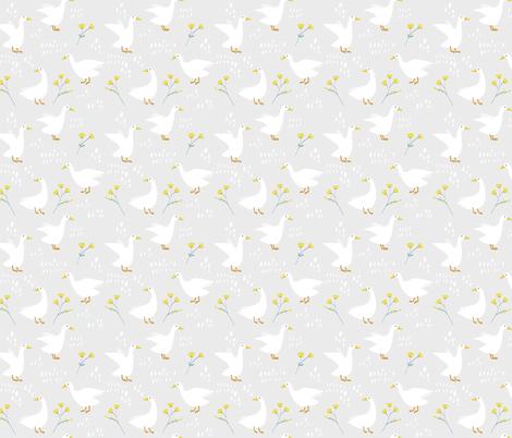Farm Ducks fabric by bearseatberries on Spoonflower - custom fabric