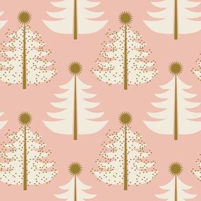 Tree Topped ~ Christmas Blush