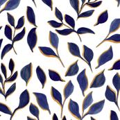 blue foliage