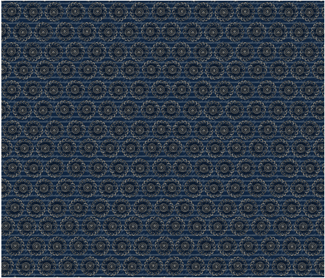 blue fuckyouassholes fabric by four-letter_fabric on Spoonflower - custom fabric