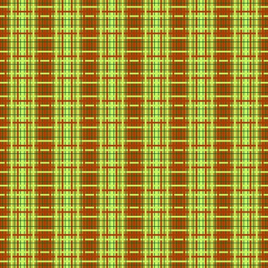 rust-lime ombre plaid-5