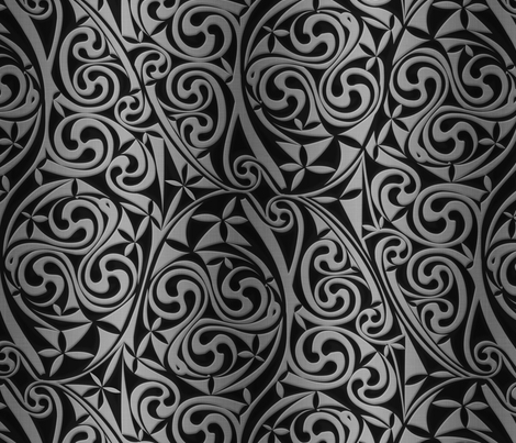 Celtic Warlord titanium fabric by spellstone on Spoonflower - custom fabric